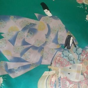 Other - Silky Japanese Robe